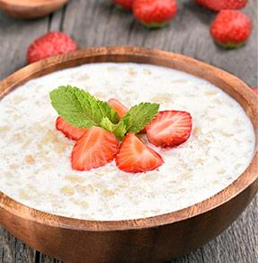 Strawberry Fields Cream of Wheat